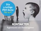 PDF-Serie: Agenturen als Herausgeber